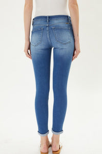 Gemma KanCan Mid Rise Ankle Skinny Jeans