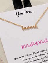 You Are Mama Necklace