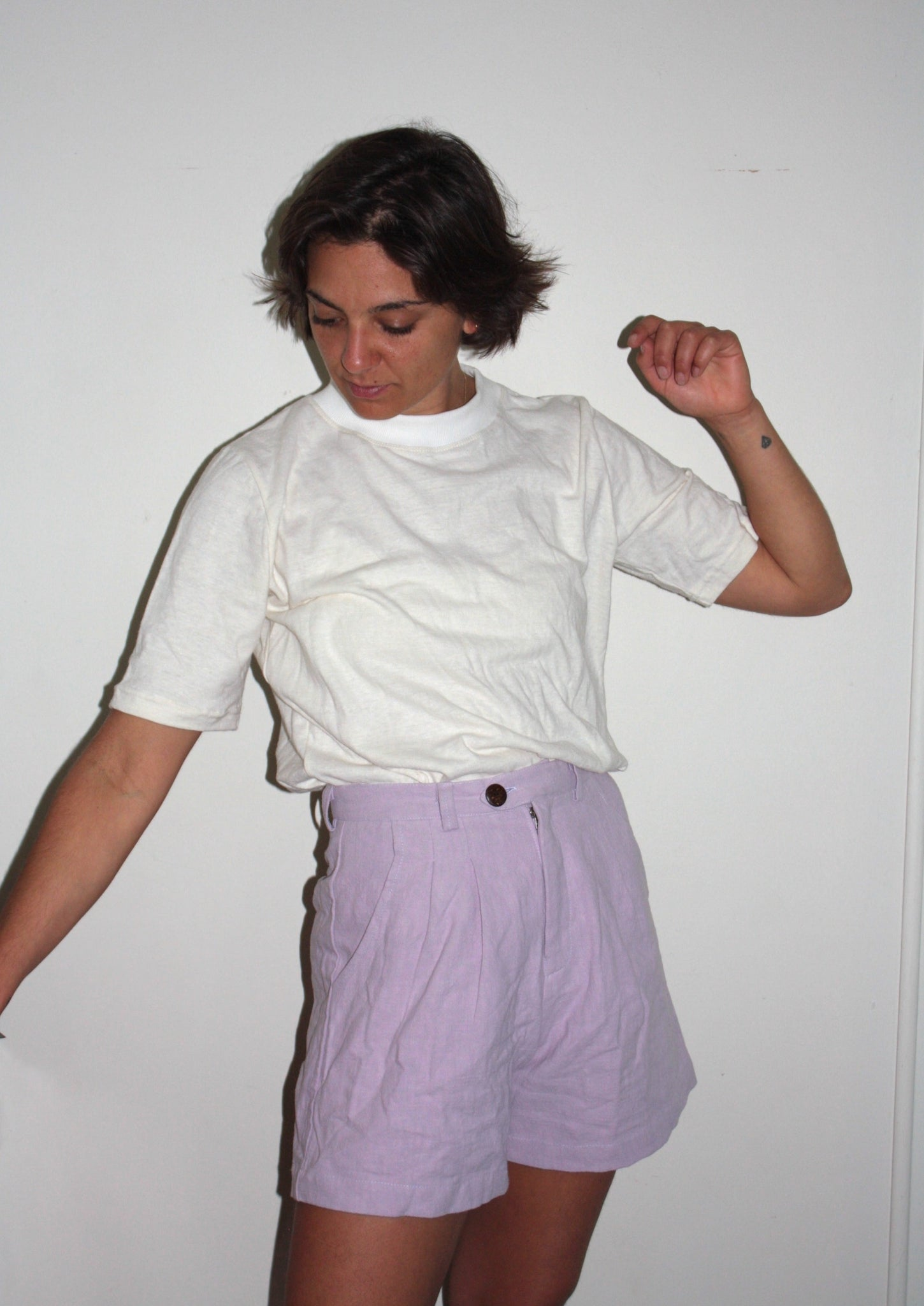 The Sailing Shorts - lilac nettle.