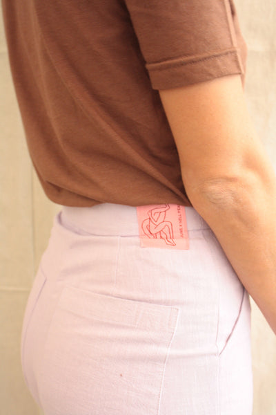 The cuff pants - Lilac Nettle.