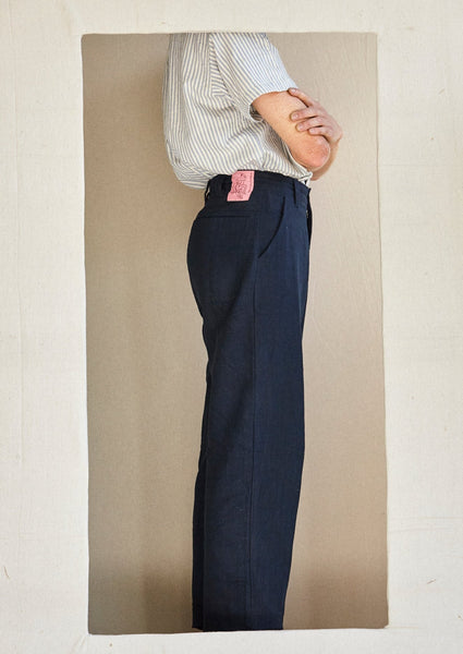 The Trousers for Legs - Nettle in navy.
