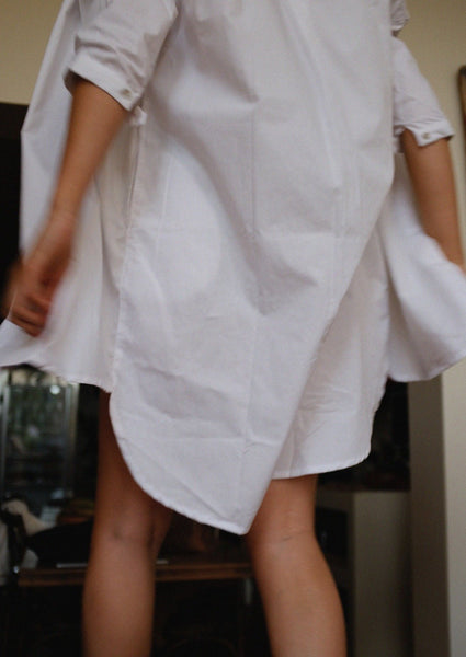 The Vacay Shirt Dress | organic cotton
