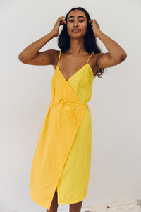 The sunny wrap dress.