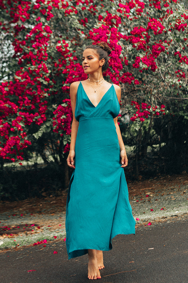 Aura Maxi in Royal Jade