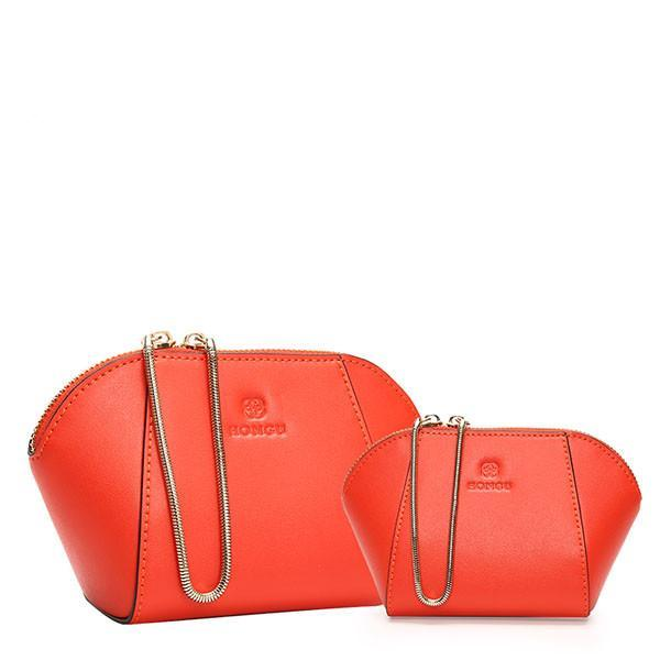 Crossbody Handbag + Clutch Bag