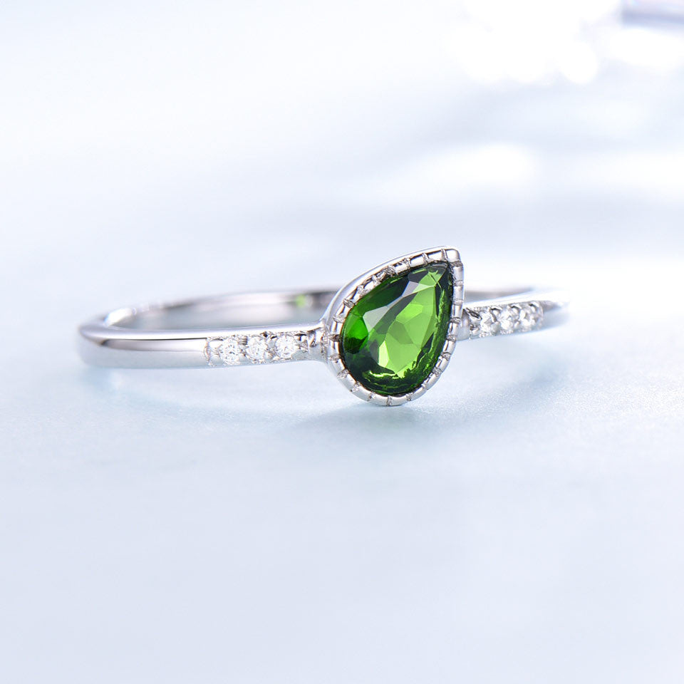 Diopside Silver