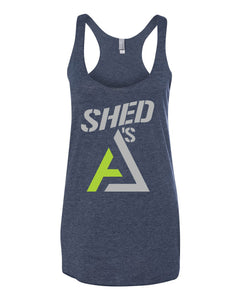 Shed A's Racerback