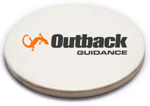 Outback Guidance Sandstone Coaster with Cork Back