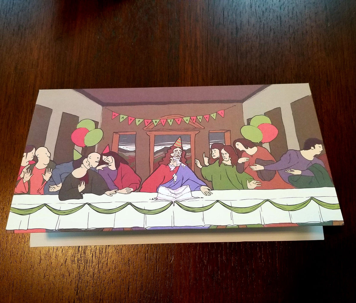 Jesus Birthday Party - 12 Pack Holiday Cards