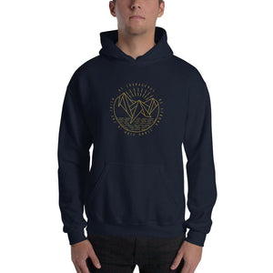 Be Courageous Be Strong Stand Firm in the Faith Pullover Hoodie Sweatshirt - S / Navy - Sweatshirts
