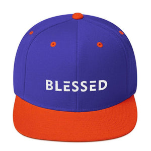 Blessed Flat Brim Snapback Hat - Hats