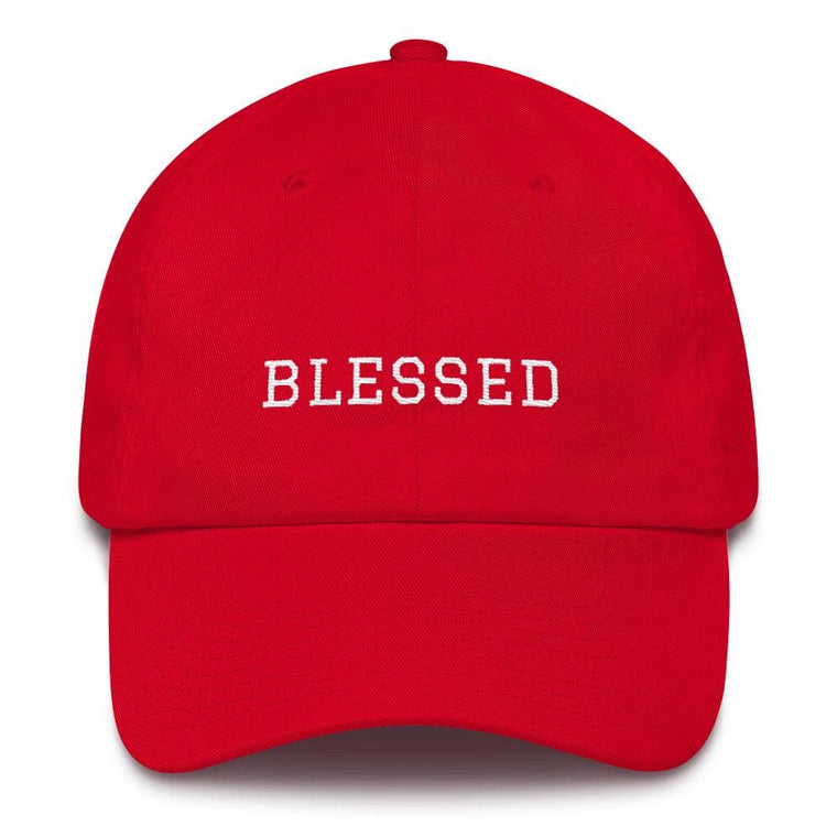 Blessed Graduate Adjustable Christian Cotton Baseball Cap
