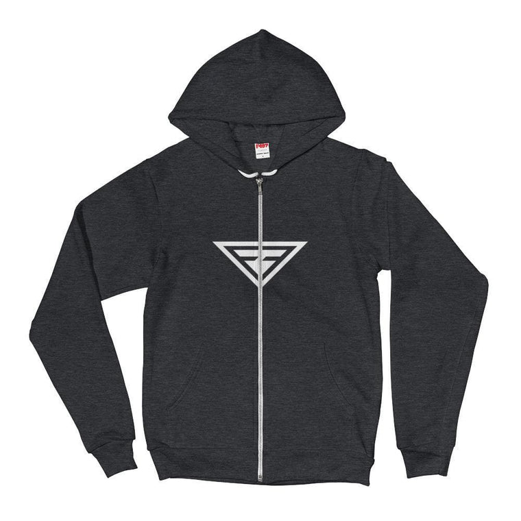 Cross-Chest Hero Hoodie Sweatshirt