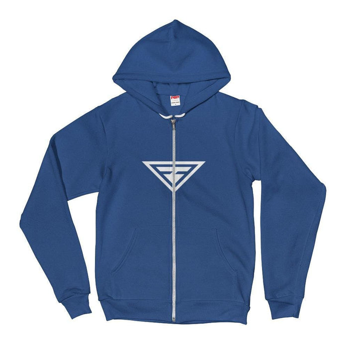Cross-Chest Hero Hoodie Sweatshirt - XS / Navy - Sweatshirts