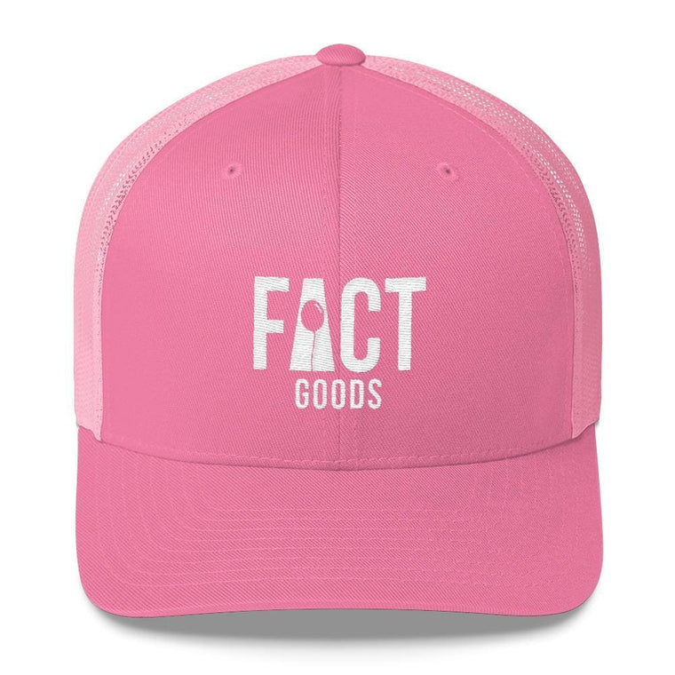 FACT goods Logo Snapback Trucker Hat