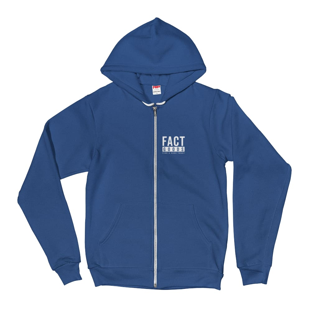 Load image into Gallery viewer, FACT goods Square Logo Hoodie Sweatshirt - XS / Navy - Sweatshirts