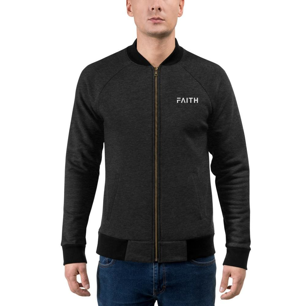 Load image into Gallery viewer, Faith Bomber Jacket - Jacket