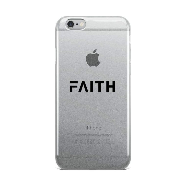 Faith Christian iPhone Case