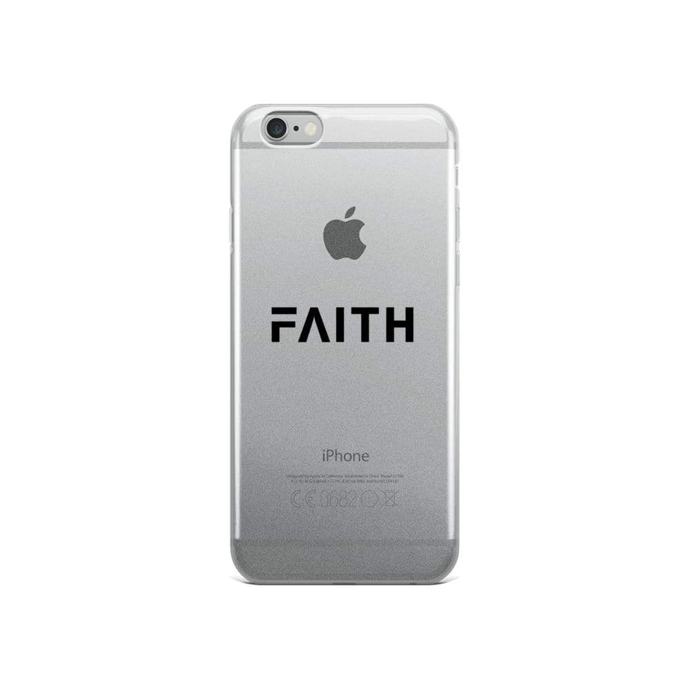 Load image into Gallery viewer, Faith Christian Iphone Case - Iphone 6/6S / Black - Phone Cases