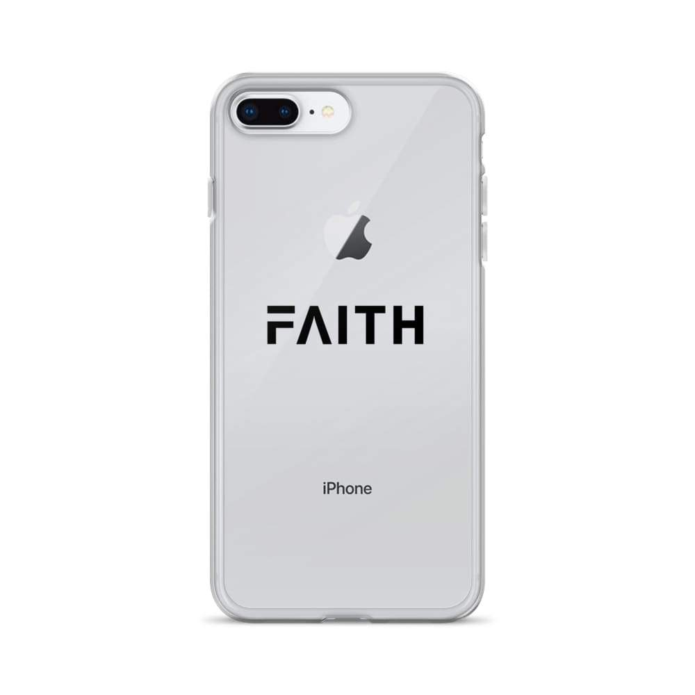 Load image into Gallery viewer, Faith Christian Iphone Case - Iphone 7 Plus/8 Plus / Black - Phone Cases