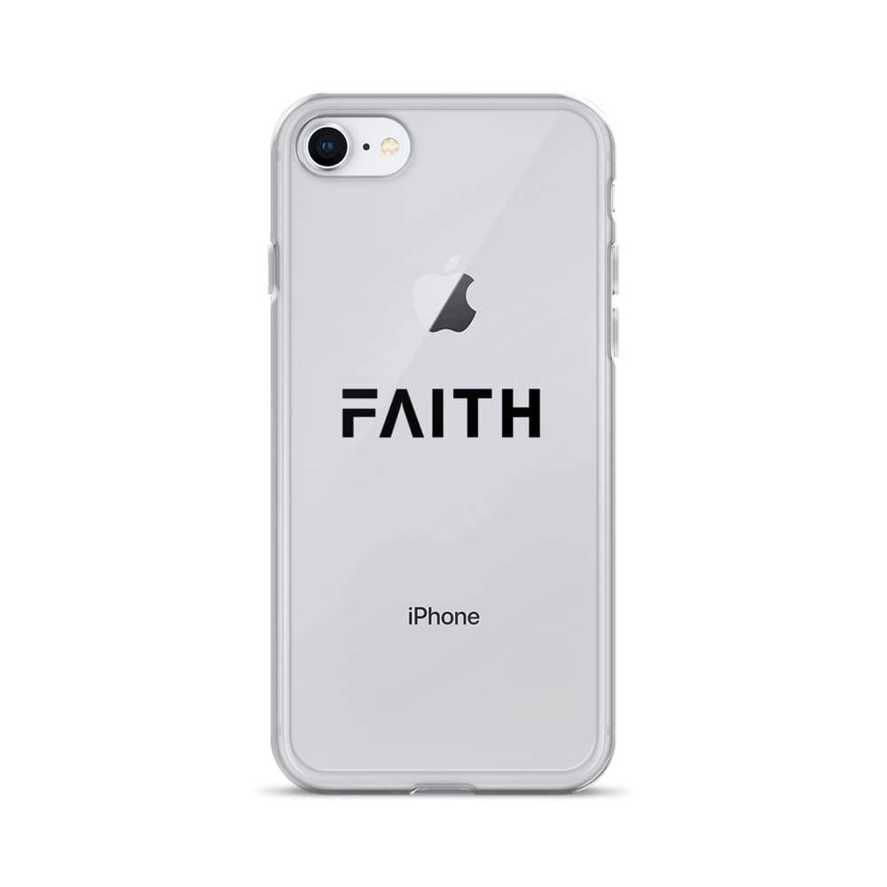 Load image into Gallery viewer, Faith Christian Iphone Case - Iphone 7/8 / Black - Phone Cases