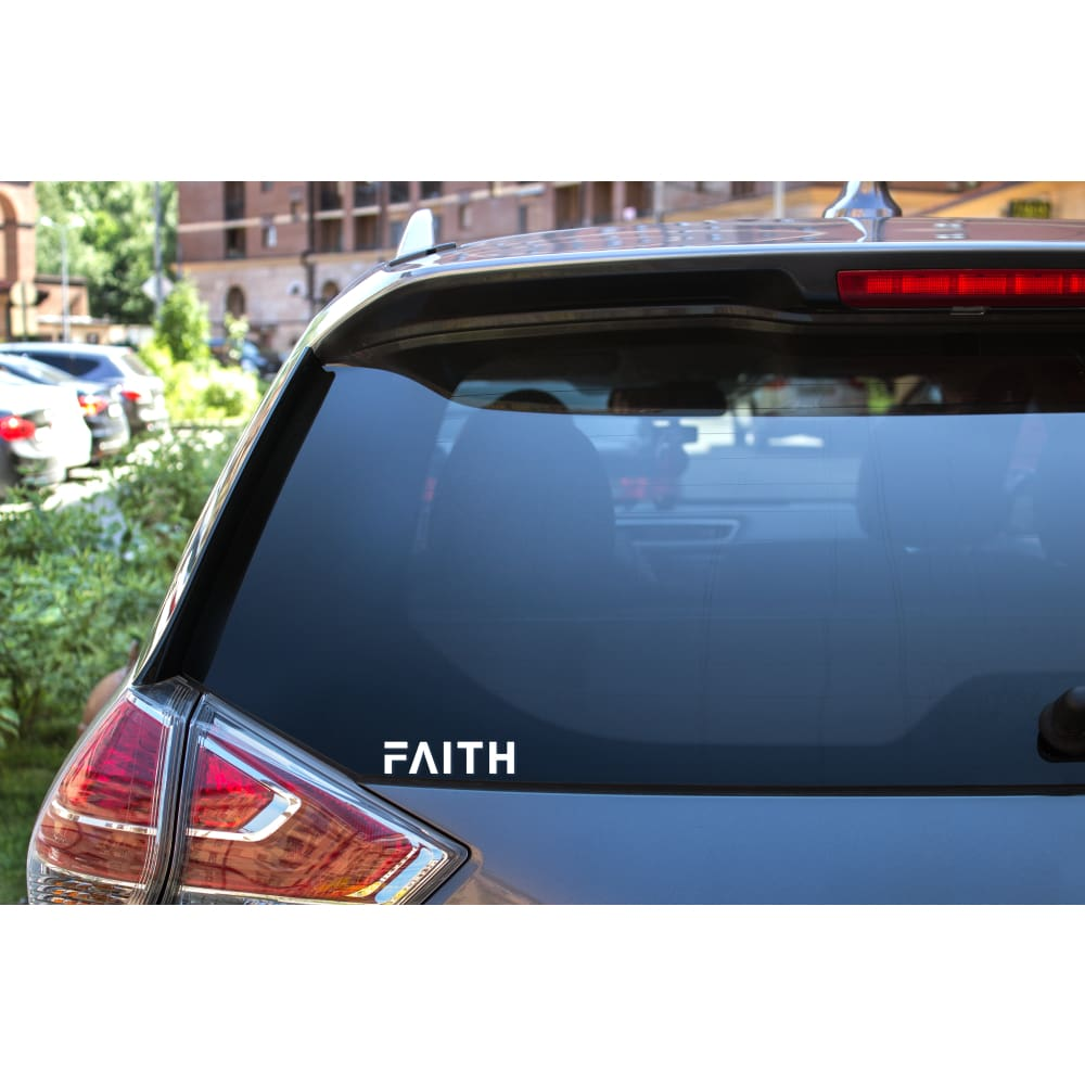 Load image into Gallery viewer, FAITH Christian Sticker - 6 inch sticker - Sticker