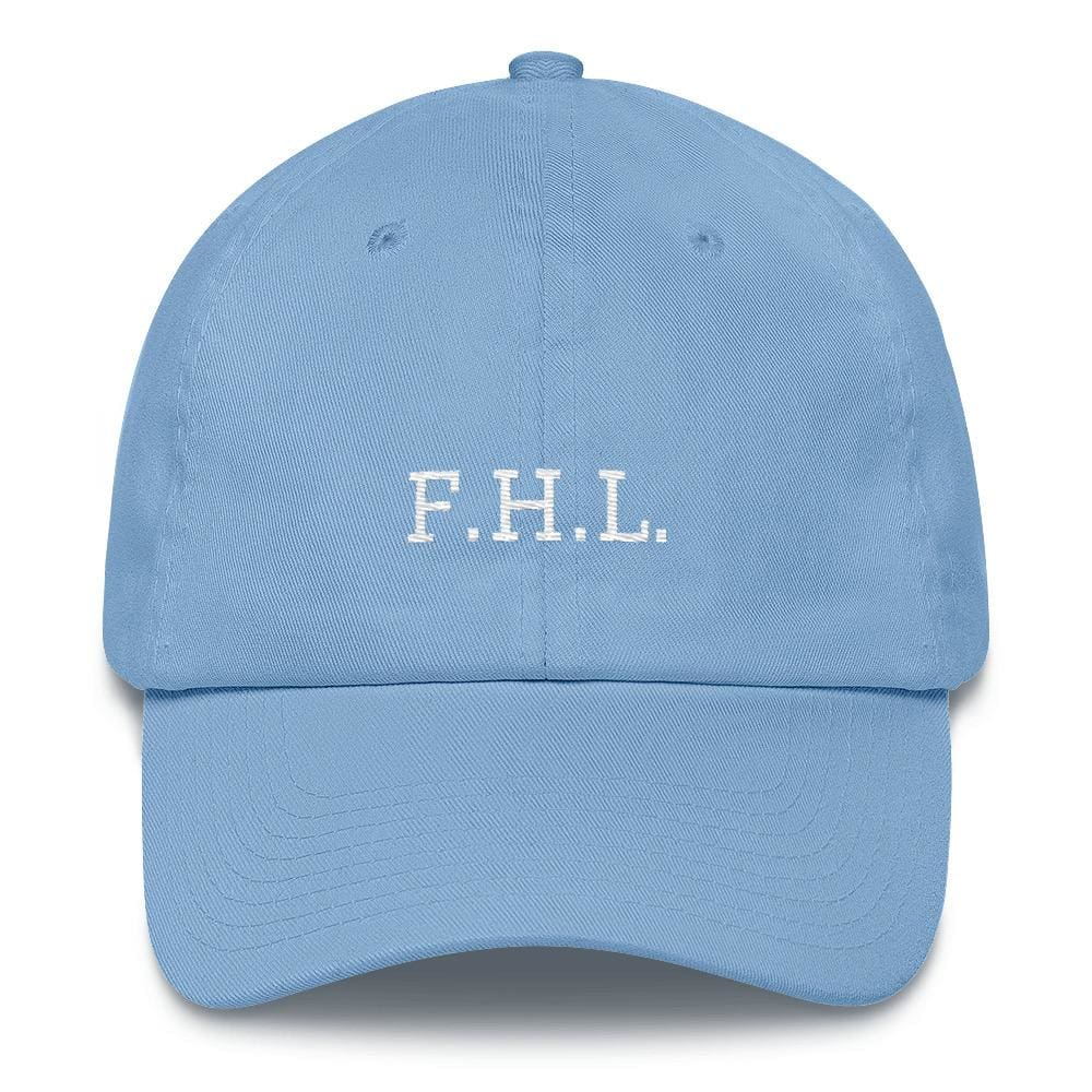 Load image into Gallery viewer, Faith Hope Love Adjustable Christian Baseball Cap - One-size / Carolina Blue - Hats