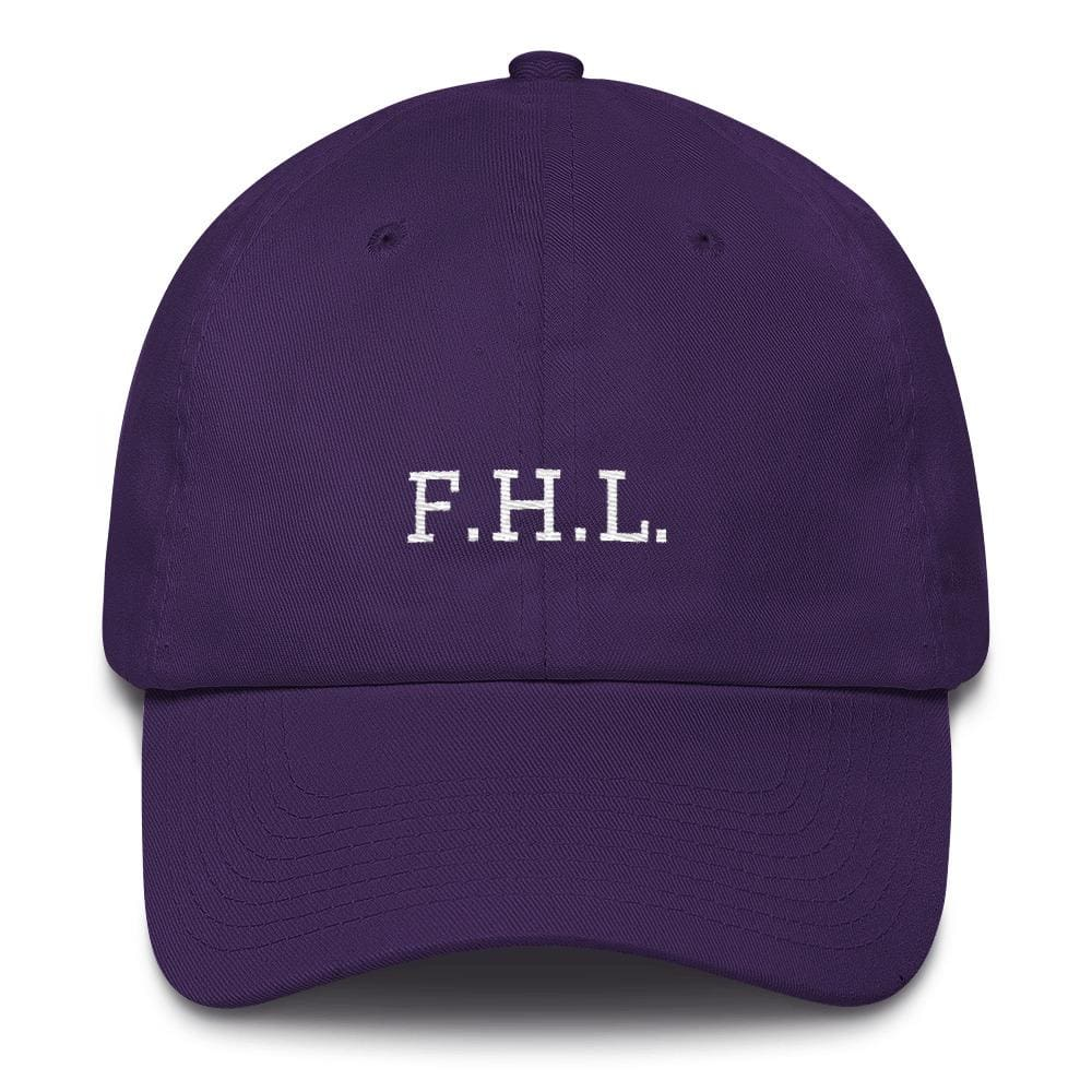 Load image into Gallery viewer, Faith Hope Love Adjustable Christian Baseball Cap - One-size / Purple - Hats