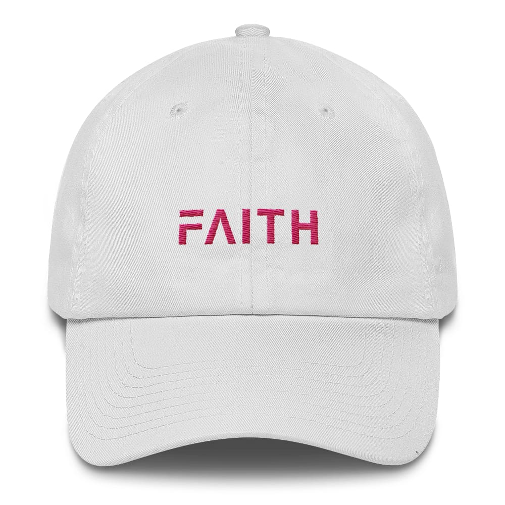 Faith Women's Adjustable Cotton Baseball Cap / Dad Hat