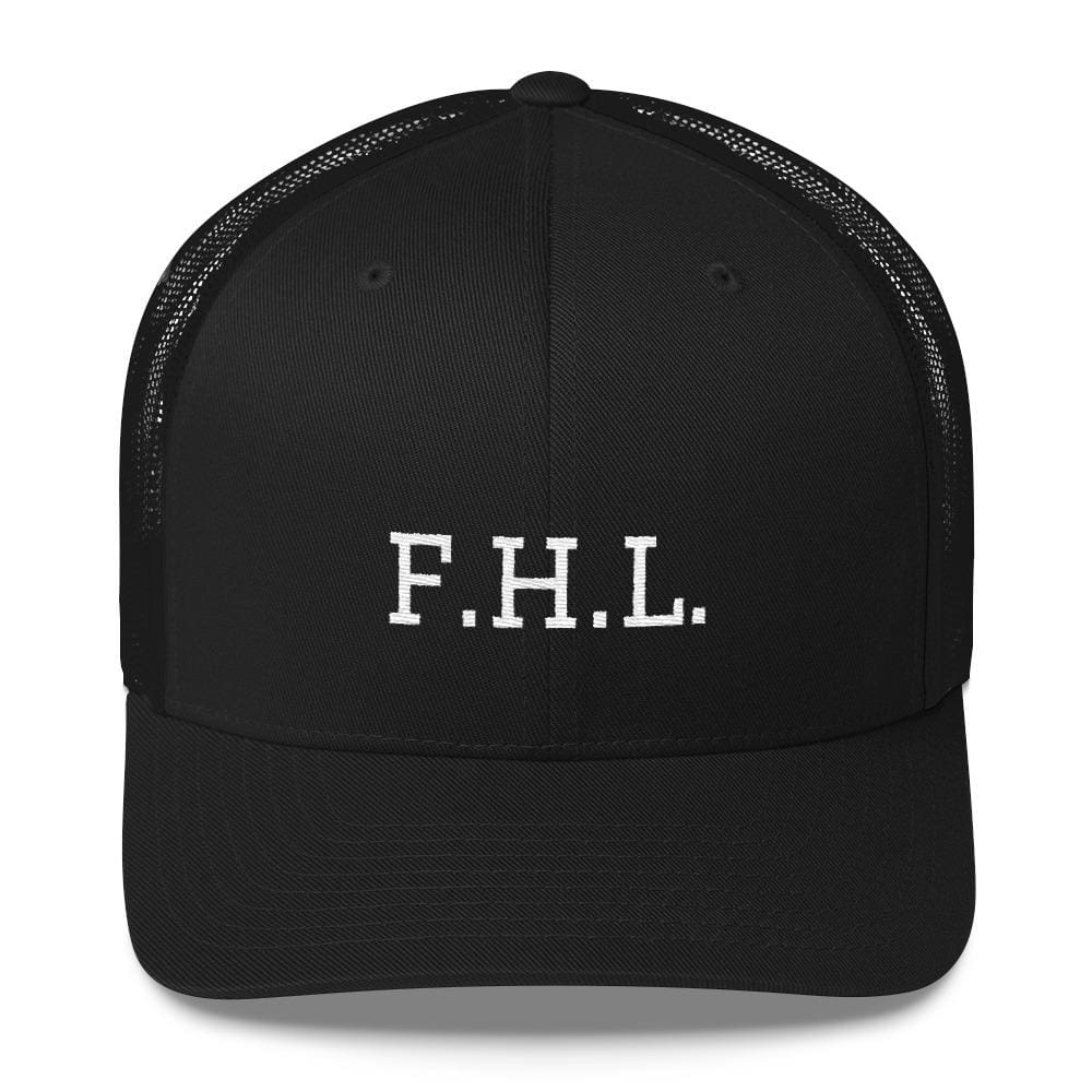 FHL (Faith Hope Love) Snapback Trucker Cap - One-size / Black - Hats