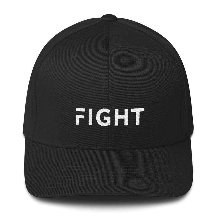 Fight Fitted Flexfit Twill Baseball Hat