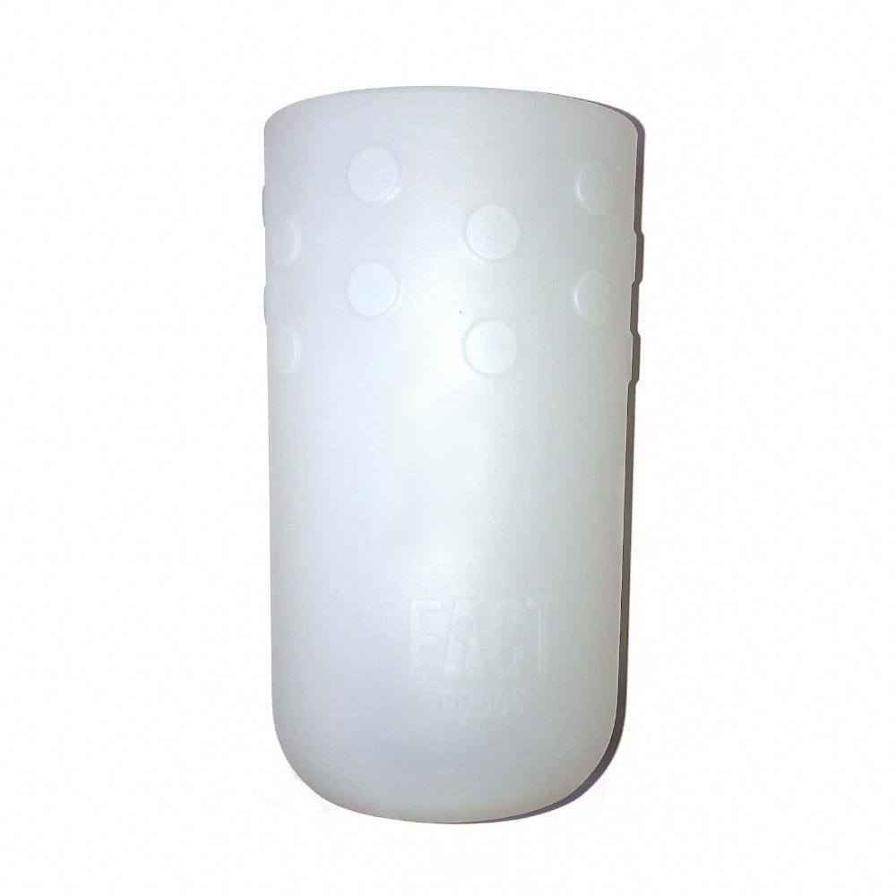Frosted White GiveGrip Silicone Sleeve for 17oz Swell Water Bottles and 18-24oz Hydro Flask - One-size / Frosted White - Water Bottle Sleeve