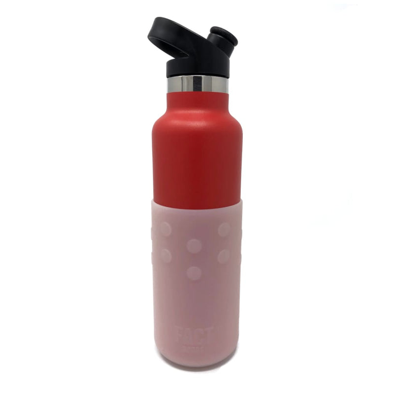GiveGrip Silicone Water Bottle Sleeve designed to fit 17oz Swell Bottle and 18-24oz Thermal Bottles - Water Bottle Sleeve