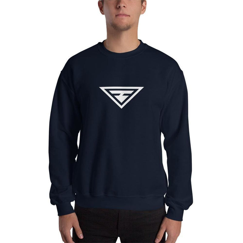Hero Crewneck Sweatshirt - S / Navy - Sweatshirts