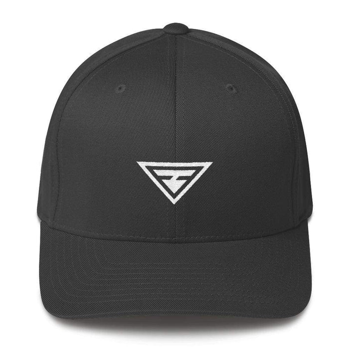 Hero Fitted Flexfit Twill Baseball Hat - S/m / Dark Grey - Hats
