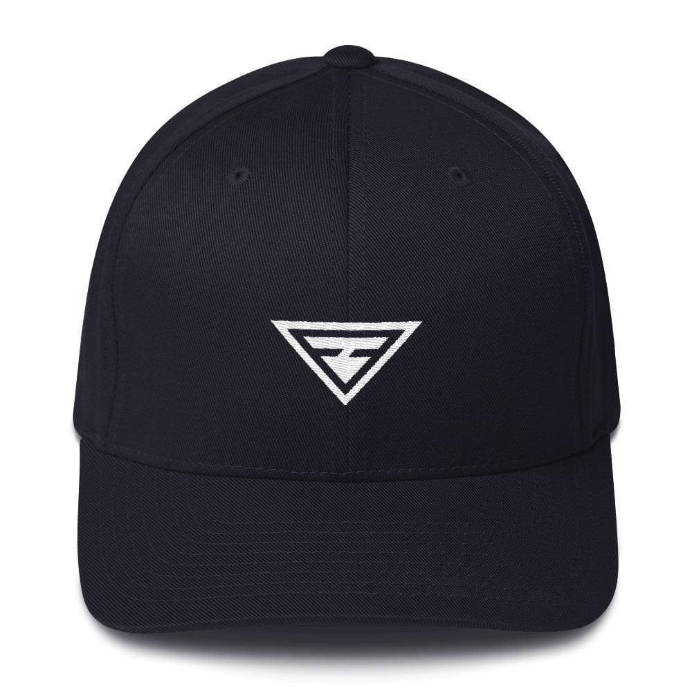 Hero Fitted Flexfit Twill Baseball Hat - S/m / Dark Navy - Hats