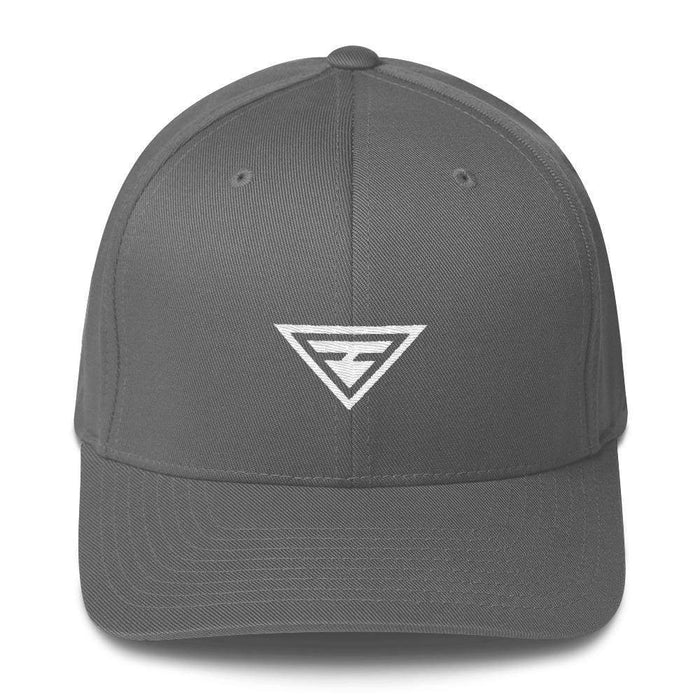 Hero Fitted Flexfit Twill Baseball Hat - S/m / Grey - Hats