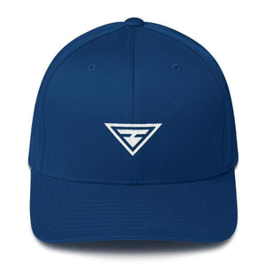 Hero Fitted Flexfit Twill Baseball Hat - S/m / Royal Blue - Hats
