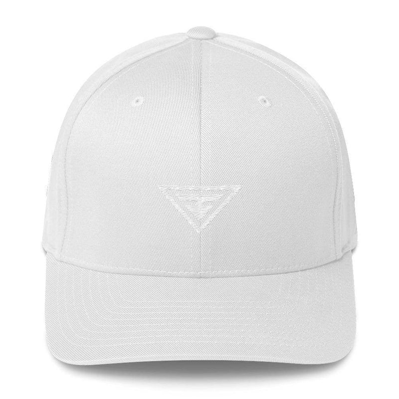 Hero Fitted Flexfit Twill Baseball Hat - S/m / White - Hats
