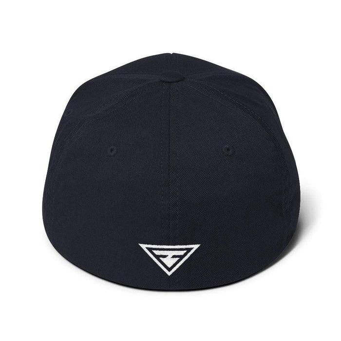Hero Flexfit Fitted Twill Baseball Hat With Logo On The Back - S/m / Dark Navy - Hats