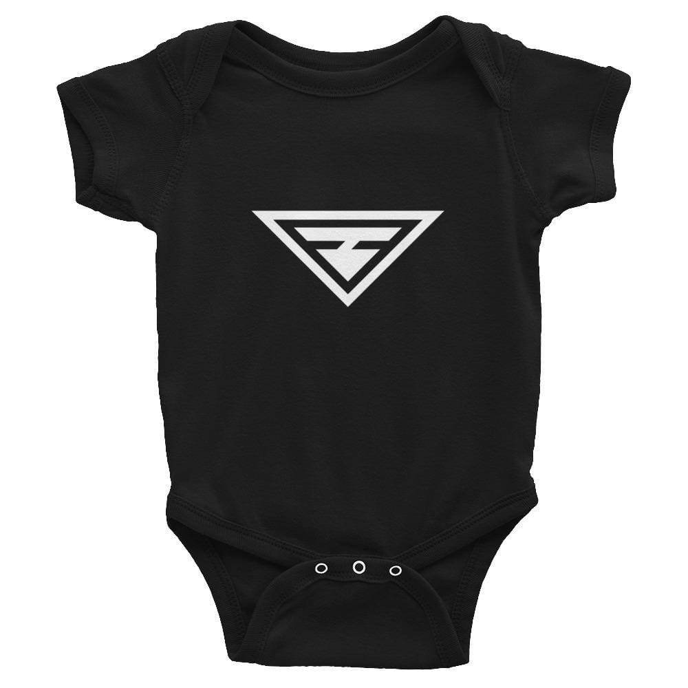 Hero Infant Onesie - 6M / Black - Onesie