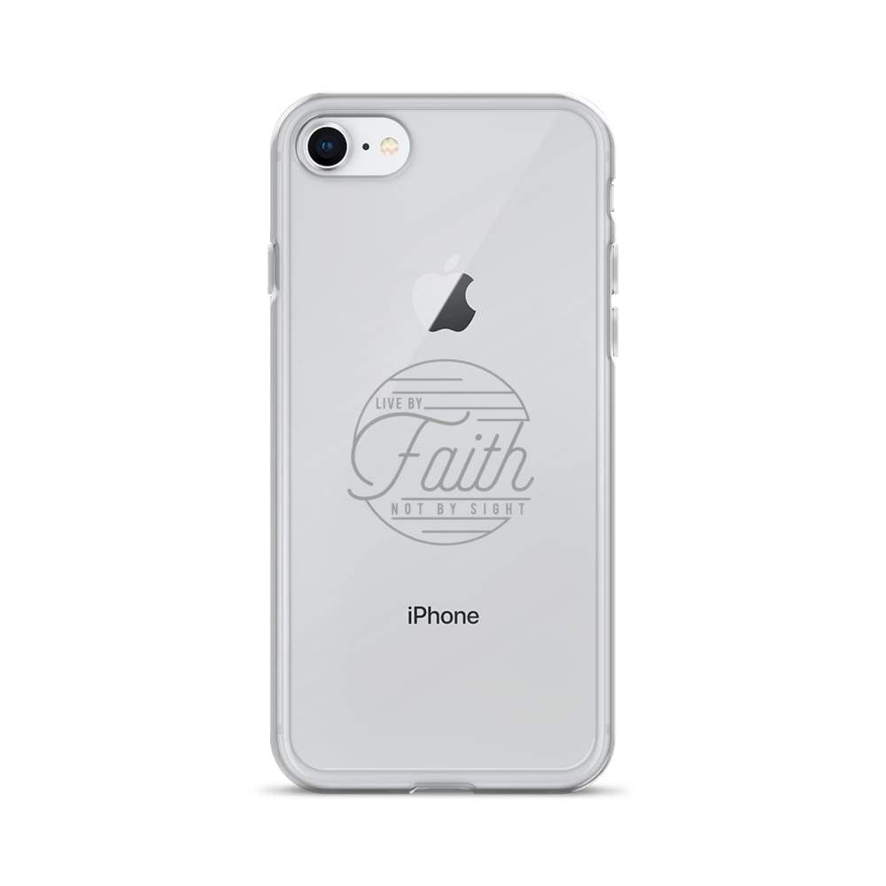 Live by Faith Christian iPhone Case