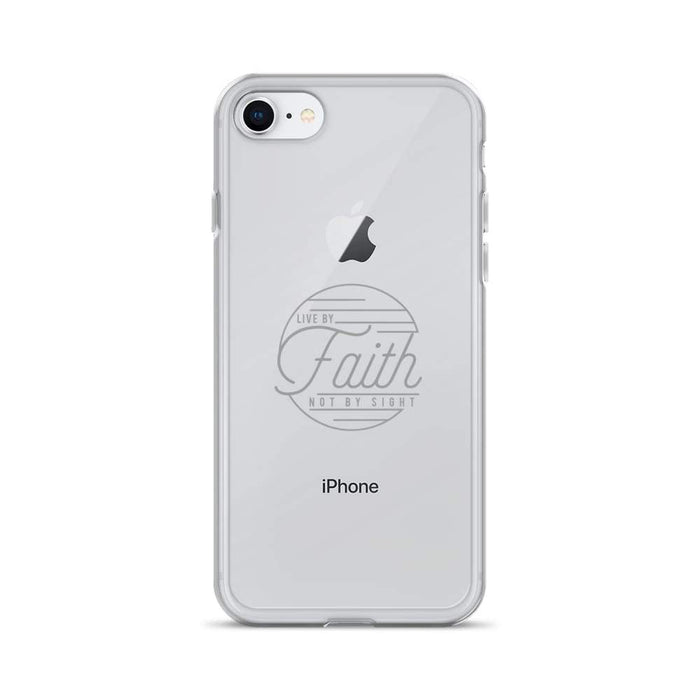 Live By Faith Christian Iphone Case - Iphone 7/8 / Grey - Phone Cases