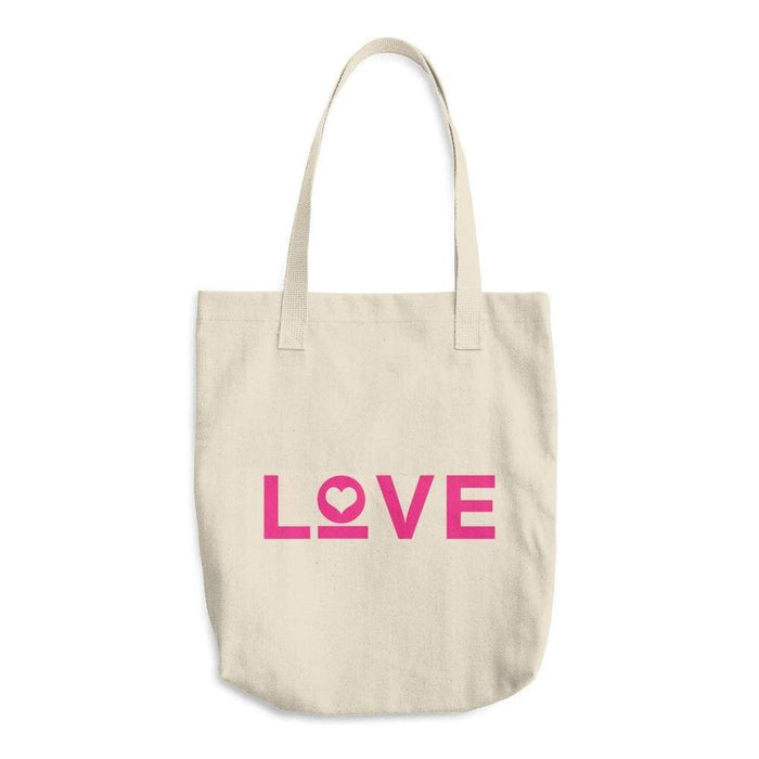Love Cotton Tote Bag (Made In The Usa) - One-Size / Natural - Totes