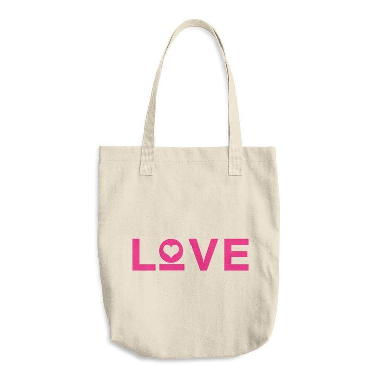 Love Cotton Tote Bag (Made in the USA)