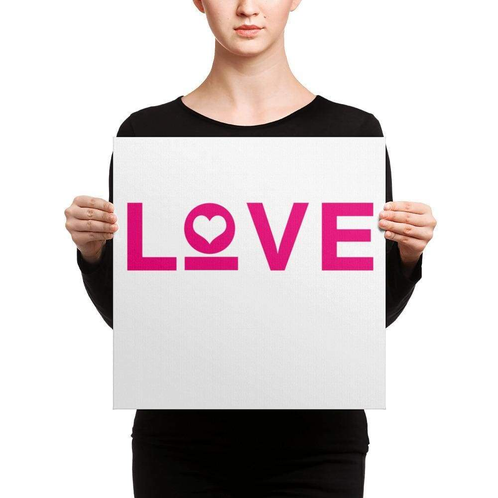 Love Heart Canvas Wall Art - Wall Art