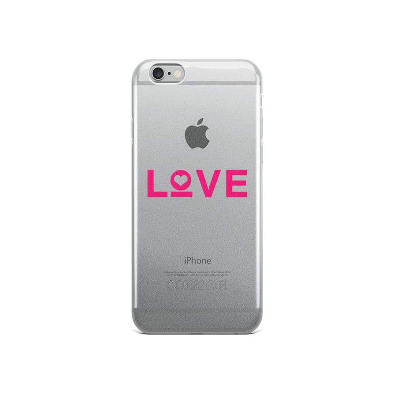 Love Iphone Case - Iphone 6/6S / Pink - Phone Cases