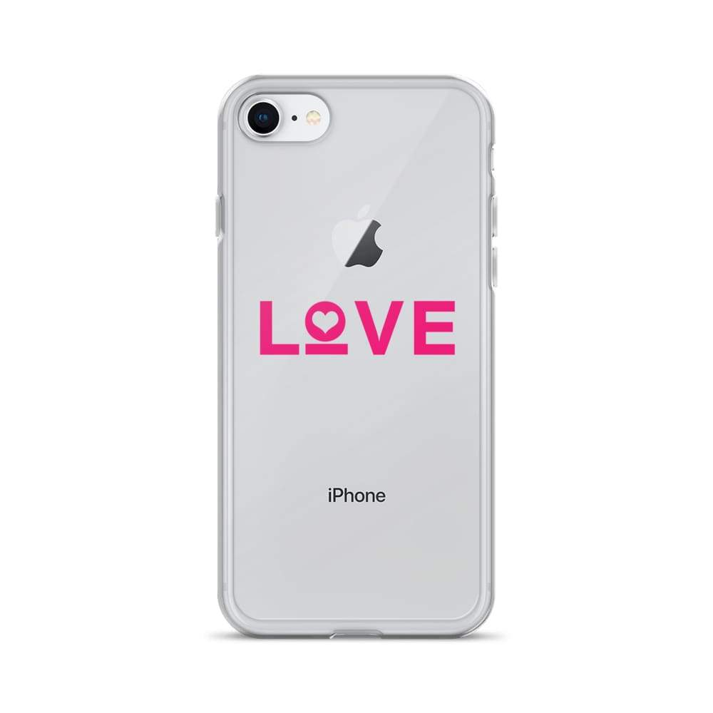 Love Iphone Case - Iphone 7/8 / Pink - Phone Cases