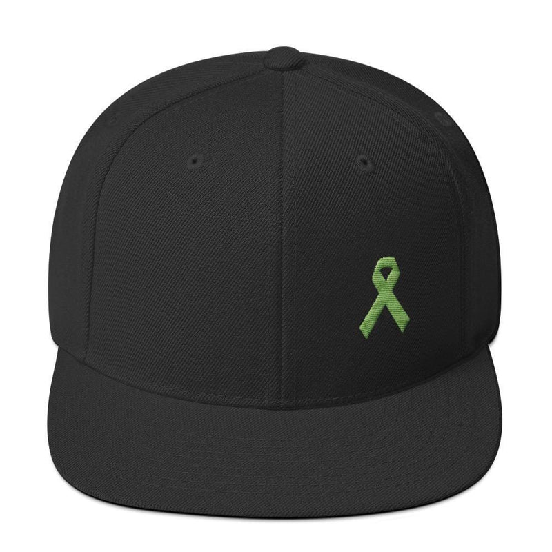 Lymphoma Awareness Snapback Hat - One-size / Black - Hats
