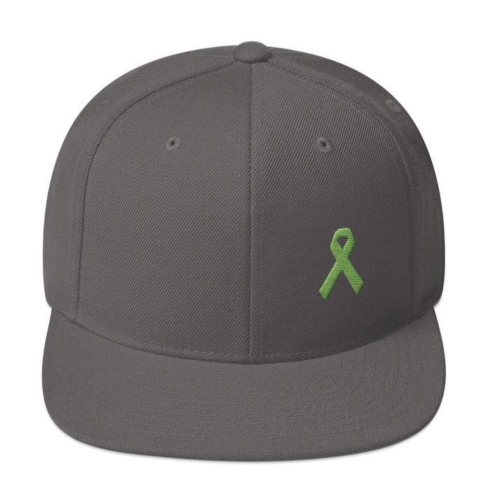 Lymphoma Awareness Snapback Hat - One-size / Dark Grey - Hats